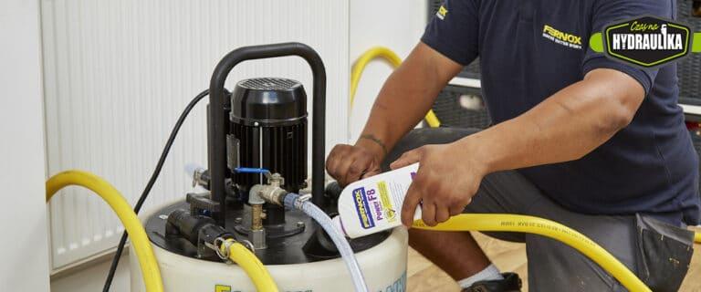 Power Cleaner F8 – nowy preparat czyszczący instalacje C.O.