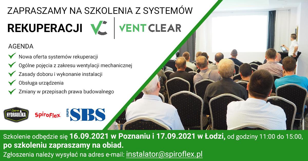 Szkolenia z systemów rekuperacji VentClear